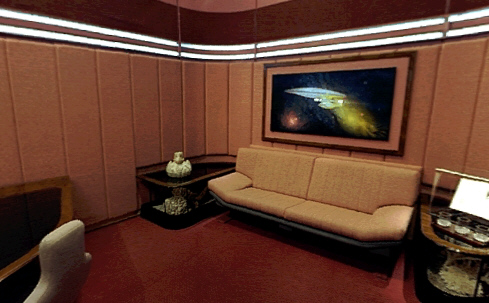 Star Trek TNG / Painting in Picard\'s Ready Room